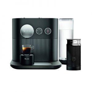 Breville-Nespresso USA BES750BLK Nespresso Expert by Breville with Aeroccino, Black Espresso & Coffee Maker, 17 x 10 x 15.2