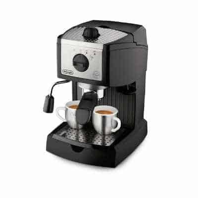 De'Longhi EC155 15-BAR espresso machine under 200