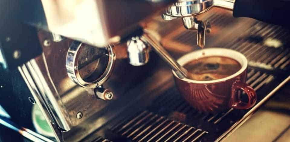 coffee espresso machine brewing espresso