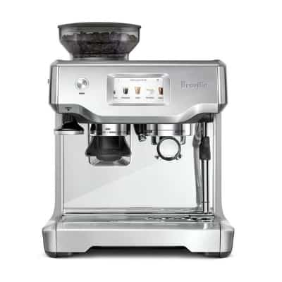 breville barista touch espresso maker, stainless steel