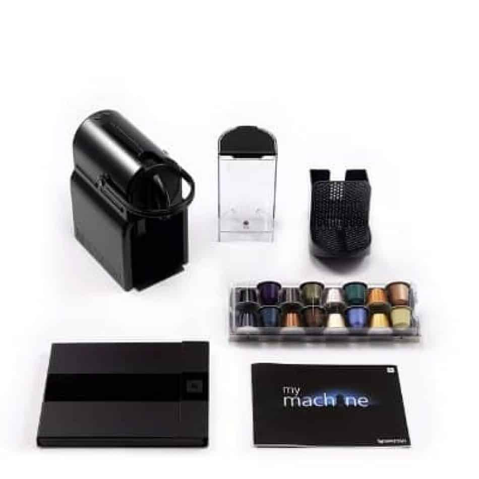 nespresso inissia package