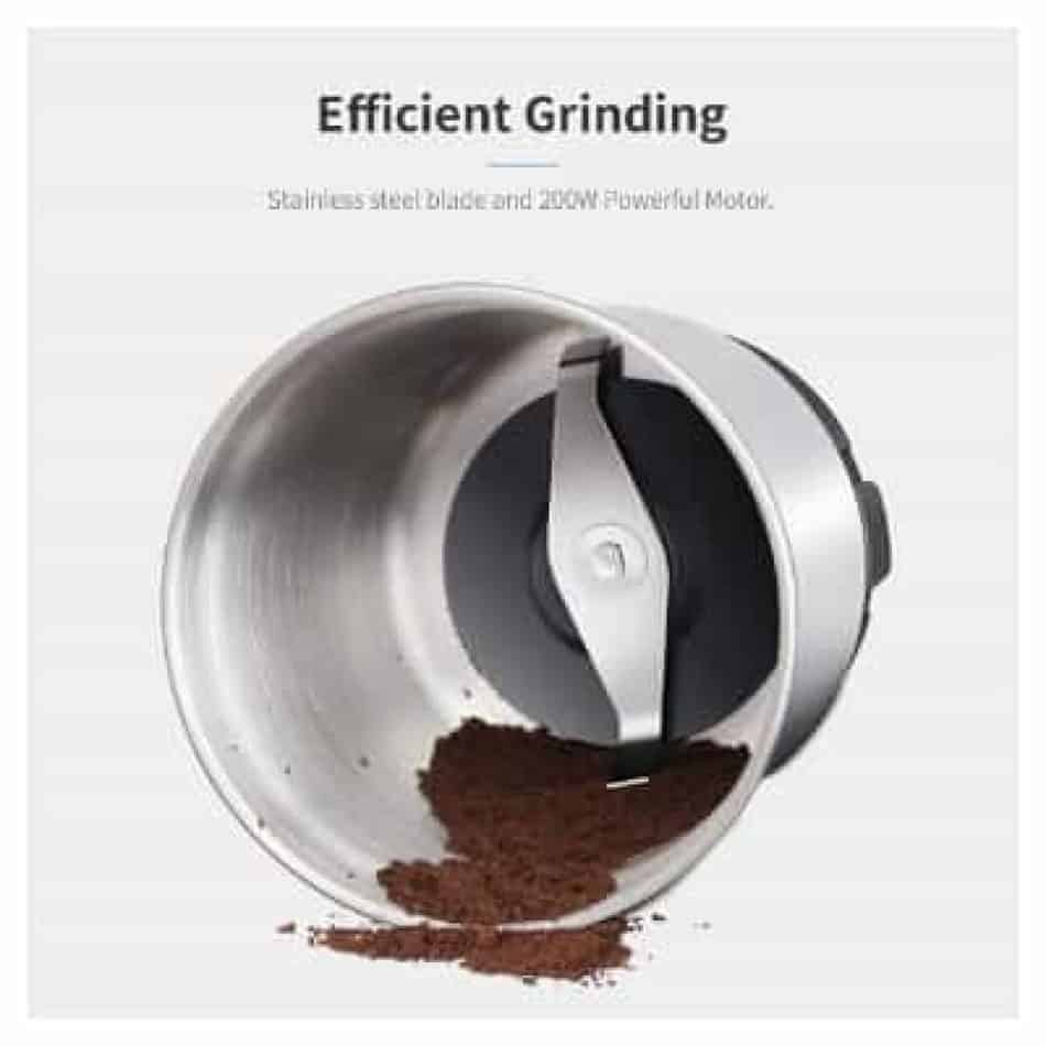 SHARDOR Coffee Grinder Electric, Removable