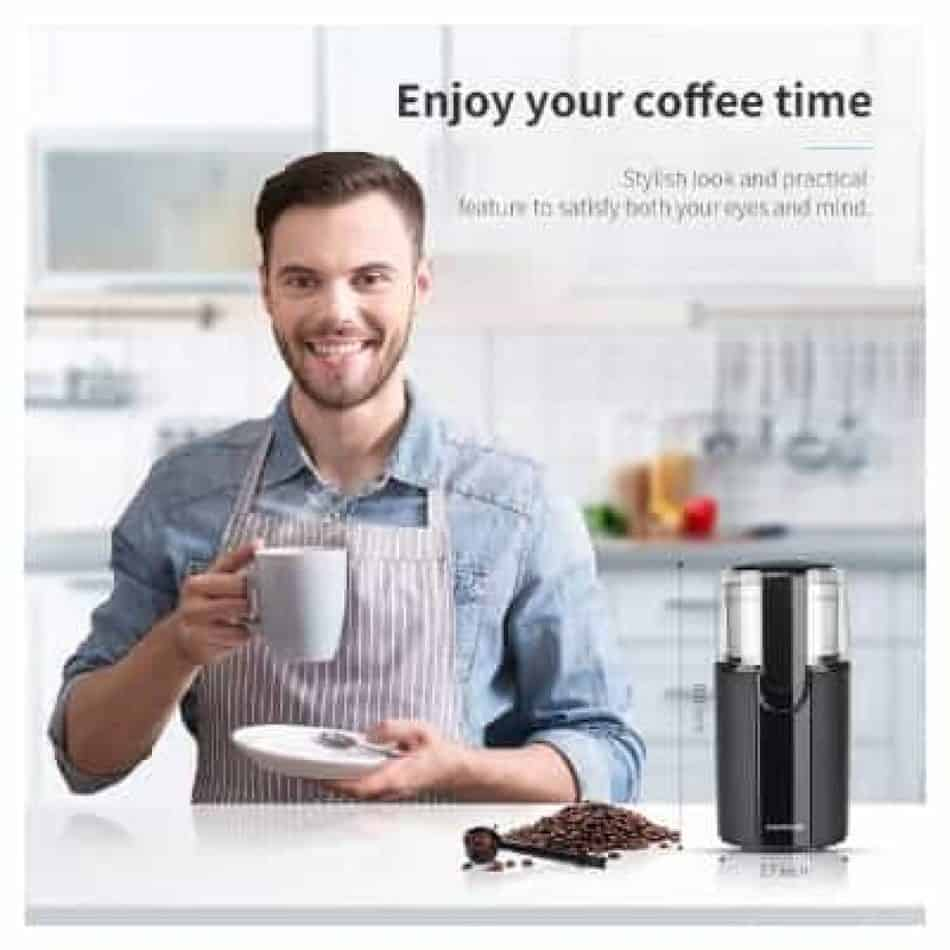 SHARDOR Coffee Grinder Electric, portable