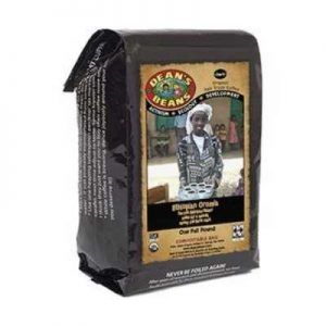Dean's Beans Organic Coffee Company, Ethiopian Oromia Single Origin, Whole Bean, 16 Ounce Bag (Organic, Fair Trade and Kosher Certified) by Dean's Beans
