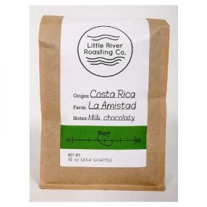 Little River Roasting Costa Rican La Amistad Coffee (Whole Bean, 1 Pound)